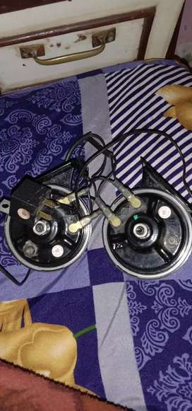 2 Minda Horn 24watt with Autocut Switch (simple and pressure horn)