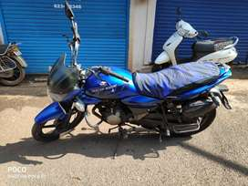 Bajaj XCD 125  blue colour