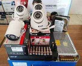 paket CCTV 5 kamera hanya 2,3 merk dahua