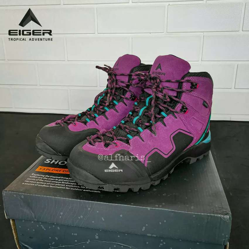#2ndSekalipakai Eiger Walton Series Original - sepatu gunung 0