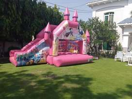 Jumping castle are available on rent in yours location.