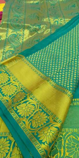 New design silk saree