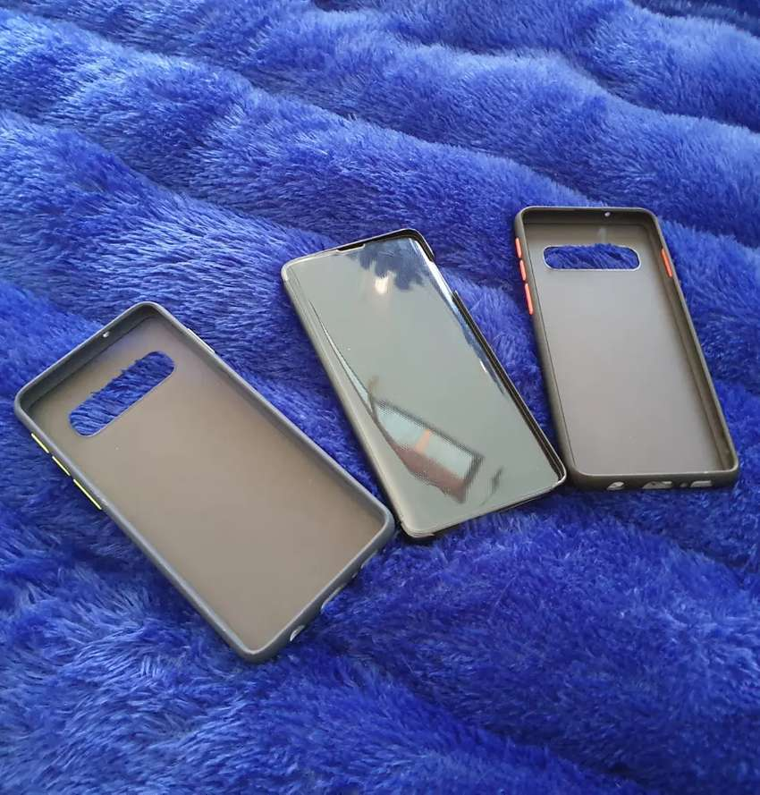 Casing Clear View Samsung S10 0