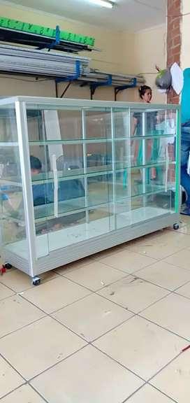 barang siap antar,etalase alumunium dengan harga agen resmi