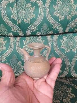 Teko celadon kecil antik cina kuno