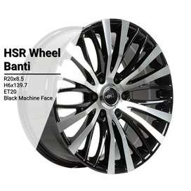 VELg mobil racing ring20 HSRwheel buat Pajero Fortuner Cicilan 0%