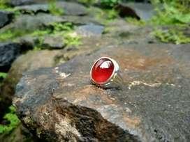 Red Garnet Ring Perak