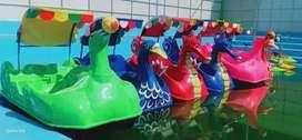 odong odong bebek fiber gowes kereta panggung NP
