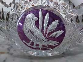 Kristal Bohemia Wadah Trapesium *Cristal 500 PK*