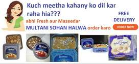 Ahmad and Rewari Multani Sohan Halwa and Nimco-Special Soghat