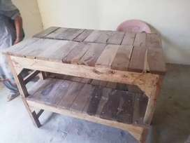 6 adad 2 seater table bench