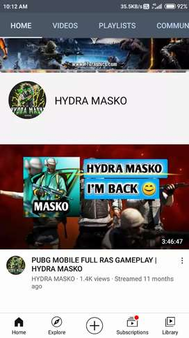Subscribe to my channel