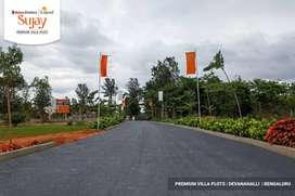 Residential villa plots Devanahalli