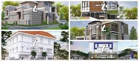 Jasa arsitek khusus rumah mewah di Bau Bau