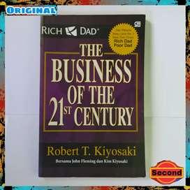 Buku Bisnis Original Robert Kiyosaki - The Business Of The 21 Century