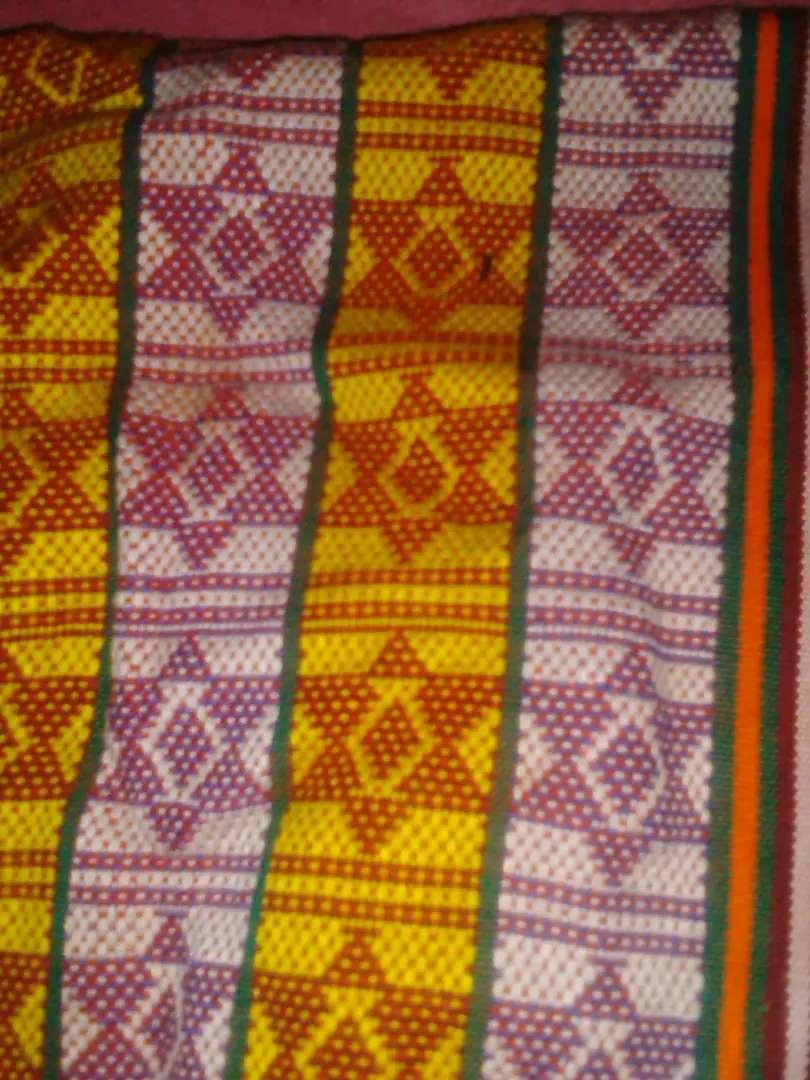 Kain tenun asal kabupaten Timor Tengah Selatan. 0