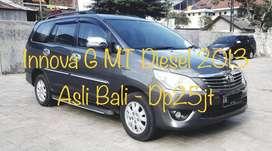 Dp25jt Innova Diesel G 2.5 MT 2013 Asli Bali TT BRV/HRV 2015/2016