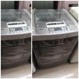 Silver colour 6.2 kg top load washing machine