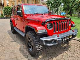 Jeep JL Rubicon 2019 red