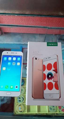 Oppo A57 With Box 3gb Ram 32gb memory Finger & Face Unlock