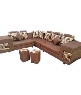 Mili living Emi Available tanveer furniture brand new sofa set sells w
