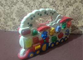 Train Engine Cell wala with sound and lights