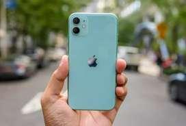 Iphone 11 128Gb nya silahkan bisa di kredit juga proses cepat ga ribet
