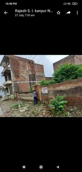 Plot for sale in satabari road near nikhat atta chakkiKanpur nagar