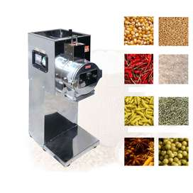 made In India Commercial 3hp Flour Mill, 9 X 5inch Chamber Size