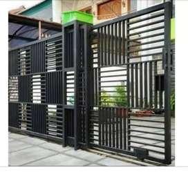 terima pesanan pintu pagar minimalis