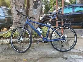 Polygon Commuter bike not surly not salsa like blue lug