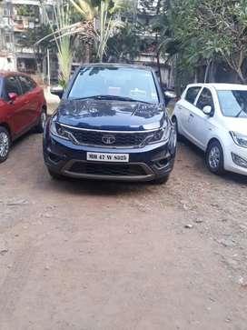 Tata Hexa 2017 Diesel 39000 Km Driven dark blue