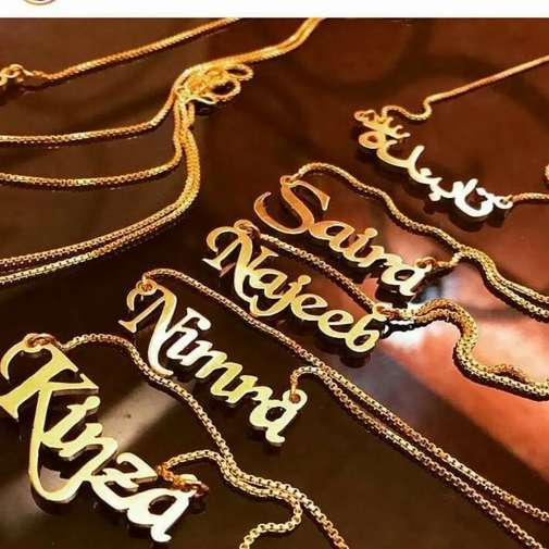 Name lockets & Neckless