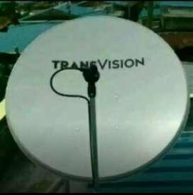 Promo resmi murah Transvision kota Medan nonton puas gambar HD jernih
