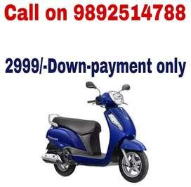 Suzuki Access 125 on Lowest Down payment