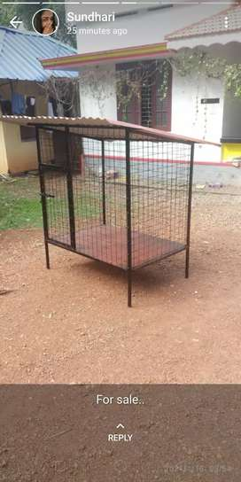 new dog cage.not used