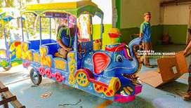 OKT odong odong kereta gajah wahana mainan Harga Promo Full Lampu Hias