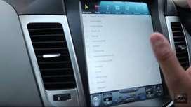 @tesla screen for xuv santafe fortuner captiva cruze Mitsubishi Pajero