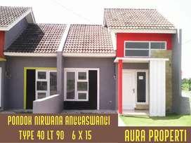 Pondok nirwana anggaswangi rumah siap huni nol DP free biaya Sidoarjo