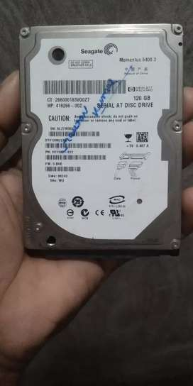 Leptop hard dish 120 gb