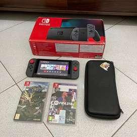 Nintendo Switch V2 Grey + Bonus