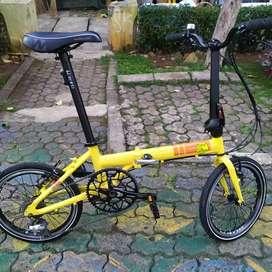 Sepeda lipat folding flash