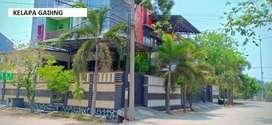 Rumah Kelapa Gading 326m 2,5lantai hdp Timur BAGUS,NYAMANNN