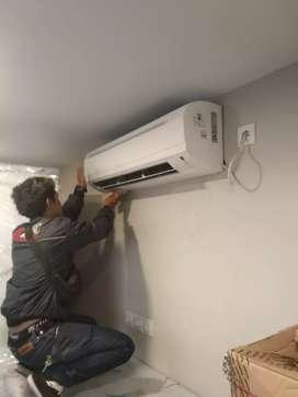 Service Ac, kulkas, mesin cuci, instalasi dan cctv