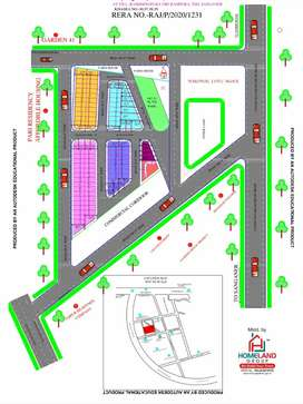 JDA APPROVED PLOTS GATED TOWNSHIP ULTRA LUXURY LOCATION
