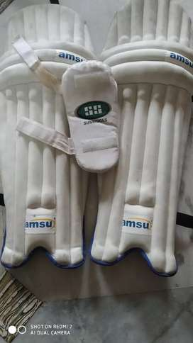 Cricket kit without kit bag