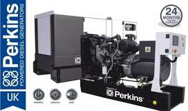 Perkins Build UK 50 Kva Brand New Generator with 24 Months Warranty