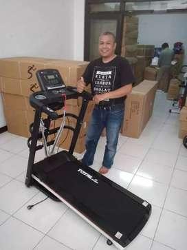 Treadmill elektrik,home gym langsung COD di rumah id  9180