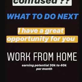 Online work brand promotion