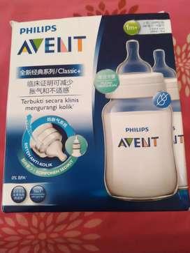 Philips avent botol 260 ml, isi 2. new